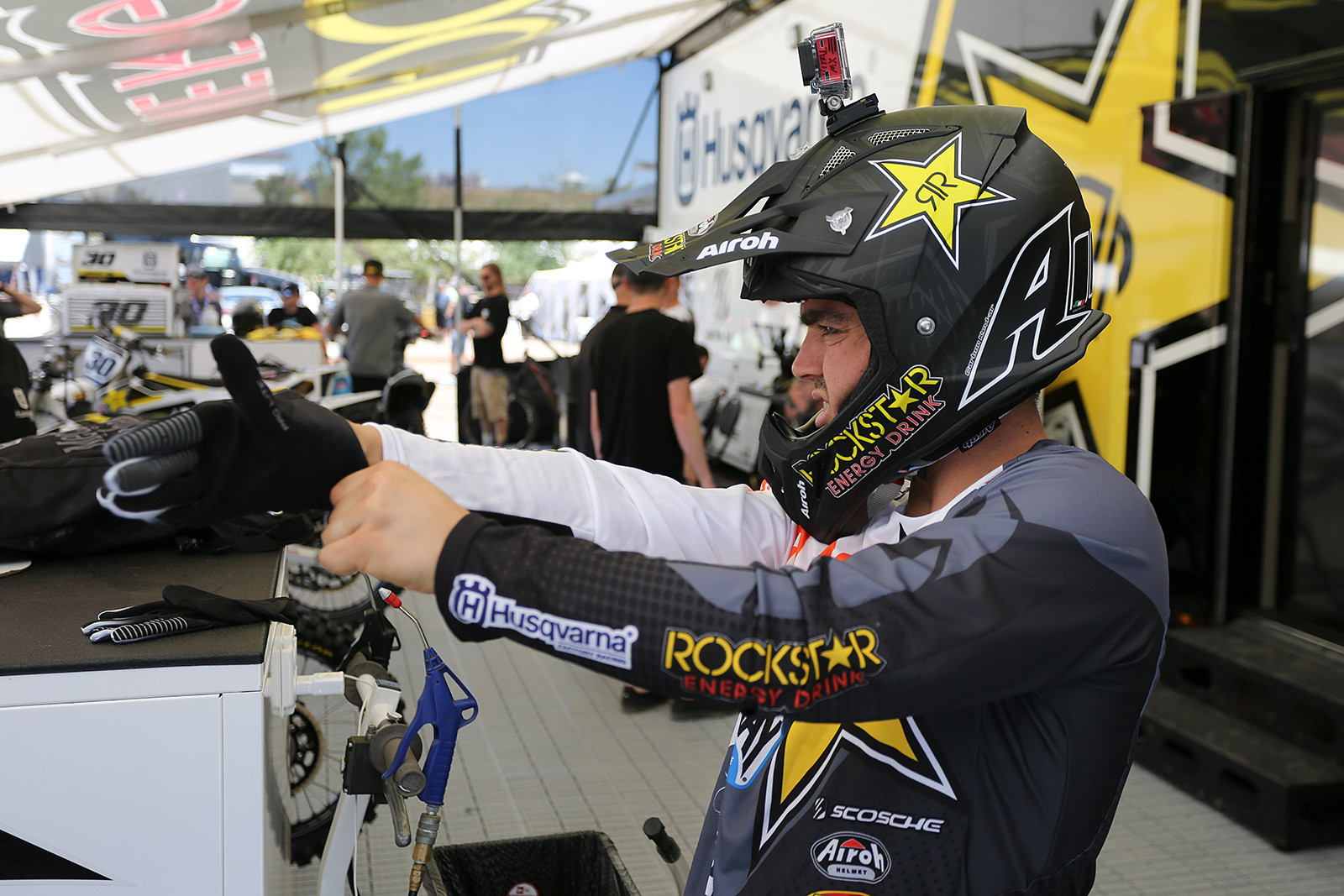 Zach Osborne (1 of 3) - Vital MX Pit Bits: Hangtown - Motocross Pictures - Vital MX