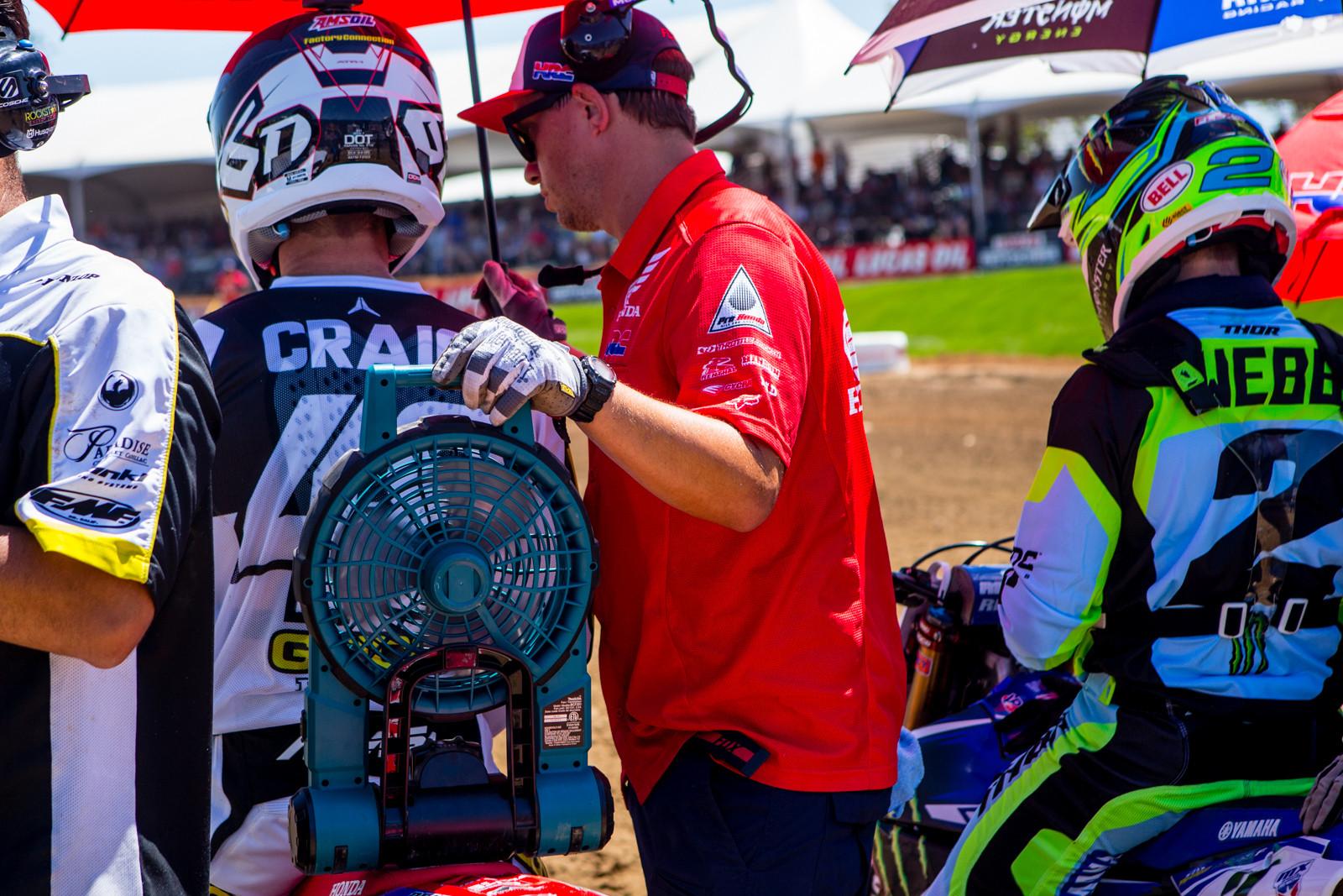 Who's your biggest fan? - Vital MX Pit Bits: Hangtown - Motocross Pictures - Vital MX