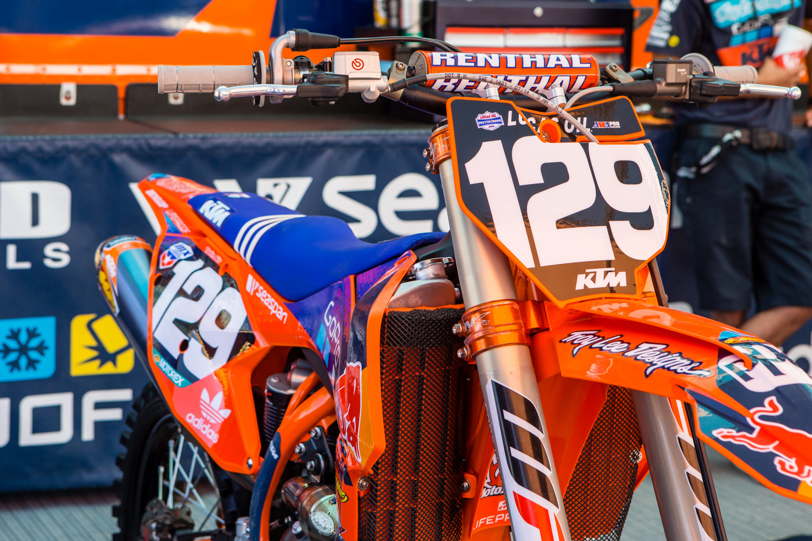 Sean Cantrell - Vital MX Pit Bits: Hangtown - Motocross Pictures - Vital MX