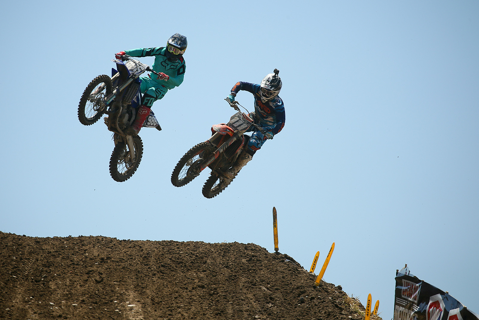 Lane Shaw and Michael Sleeter - Vital MX Pit Bits: Hangtown - Motocross Pictures - Vital MX