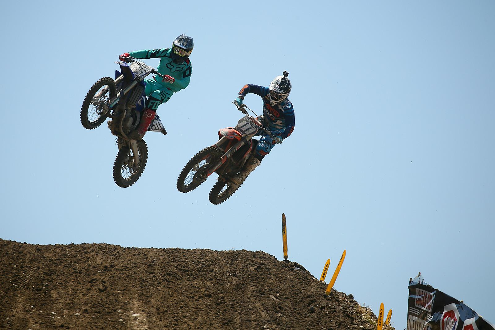 Lane Shaw and Michael Sleeter - Vital MX Pit Bits: Hangtown - Motocross Pictures - Vital MX