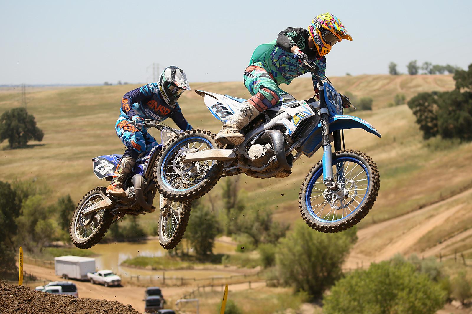 Cobe Lehnertz and Chris Plouffe  - Vital MX Pit Bits: Hangtown - Motocross Pictures - Vital MX
