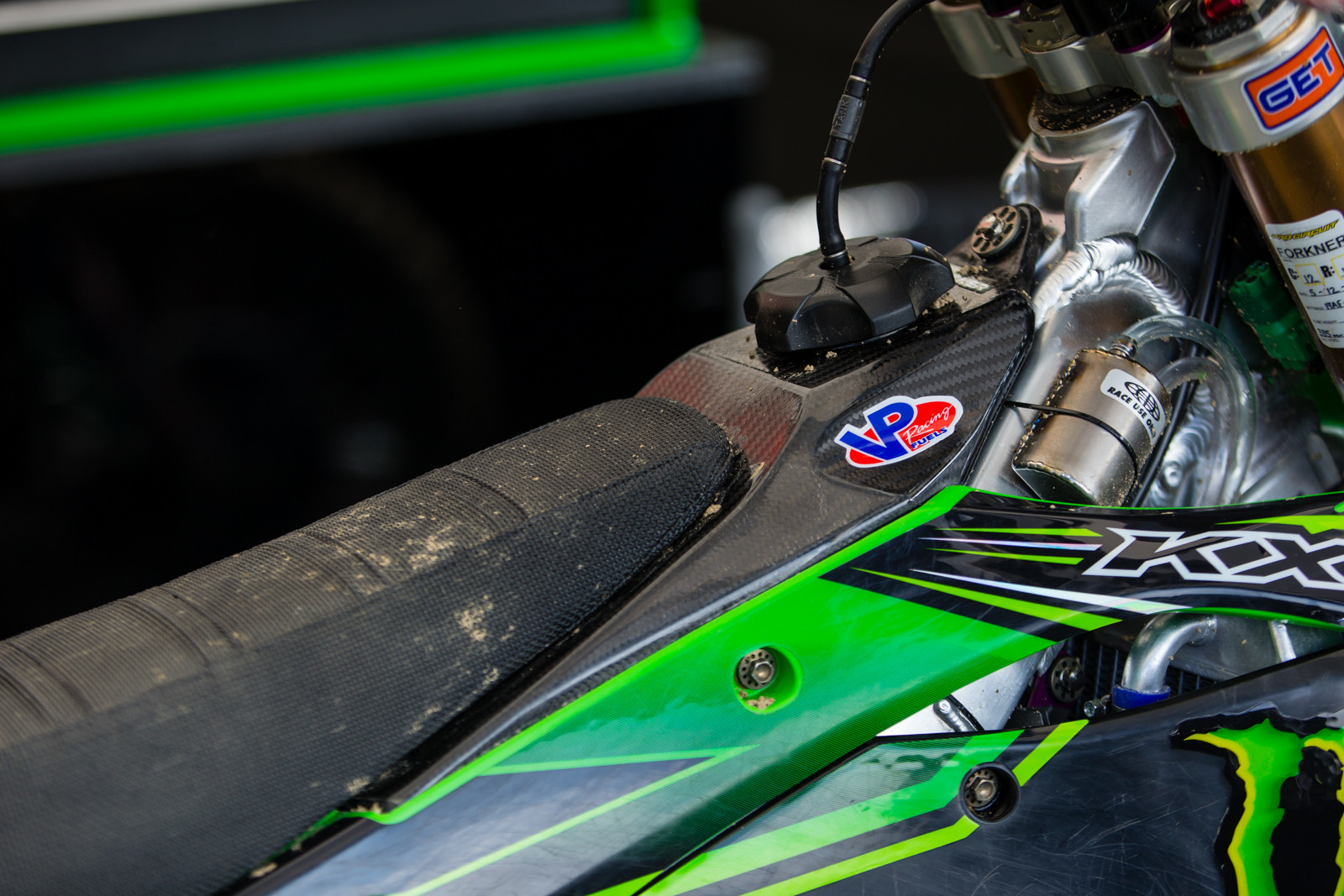 Monster Energy Pro Circuit Kawasaki - Vital MX Pit Bits: Glen Helen - Motocross Pictures - Vital MX