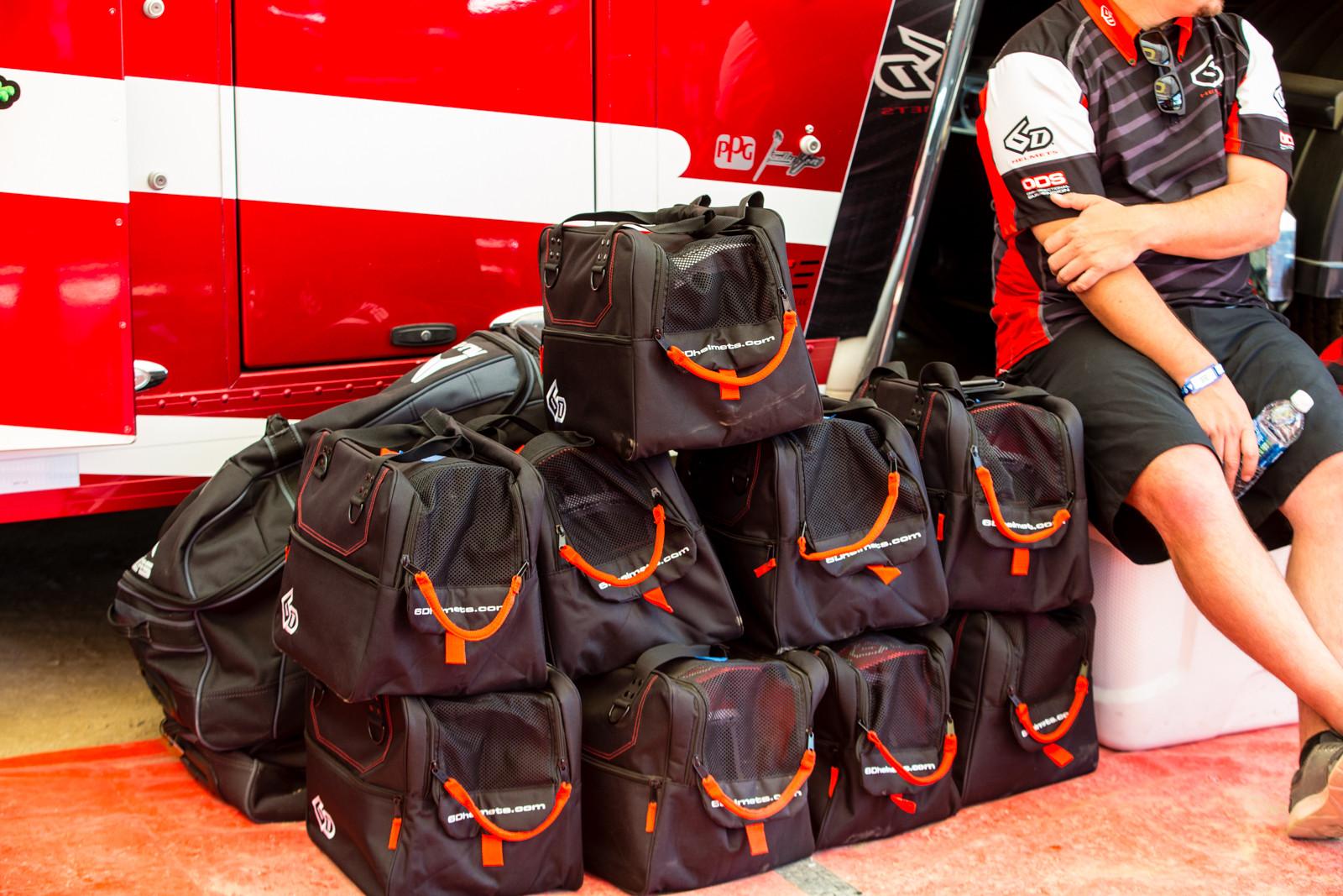 6D Helmets - Vital MX Pit Bits: Glen Helen - Motocross Pictures - Vital MX
