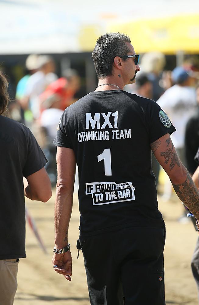 Drinking team - Vital MX Pit Bits: Glen Helen - Motocross Pictures - Vital MX