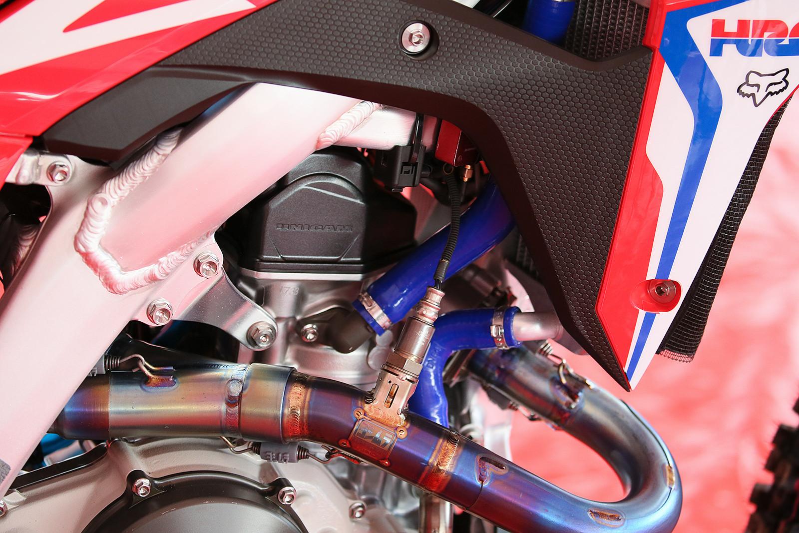 Cole Seely's Honda - Vital MX Pit Bits: Thunder Valley - Motocross Pictures - Vital MX