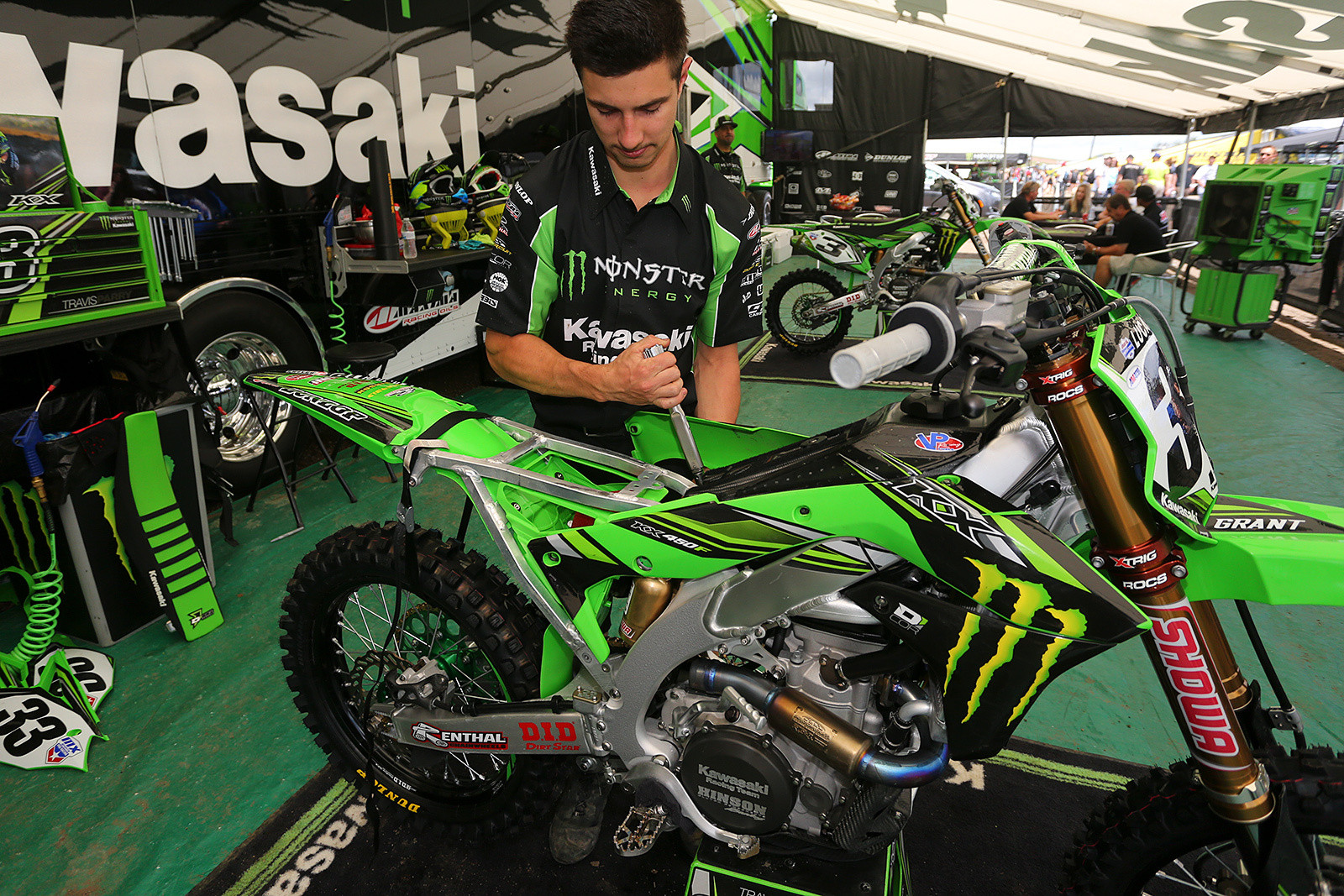 Compression - Vital MX Pit Bits: Thunder Valley - Motocross Pictures - Vital MX