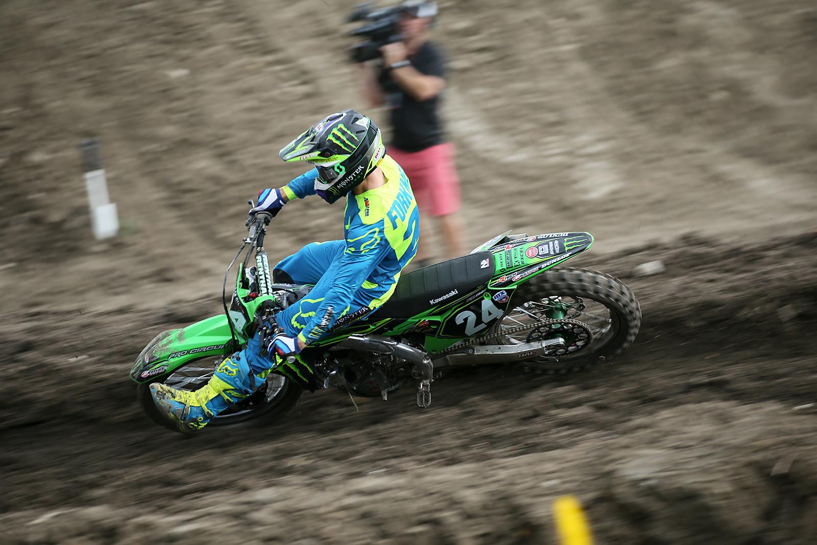 Austin Forkner - Vital MX Pit Bits: Thunder Valley - Motocross Pictures - Vital MX