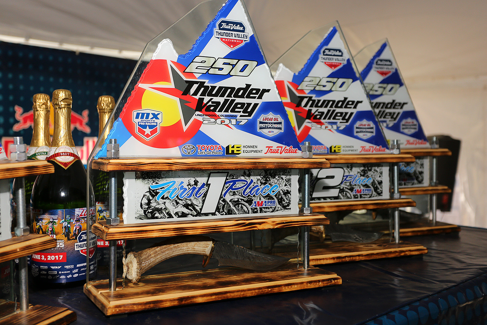Trophies. - Vital MX Pit Bits: Thunder Valley - Motocross Pictures - Vital MX