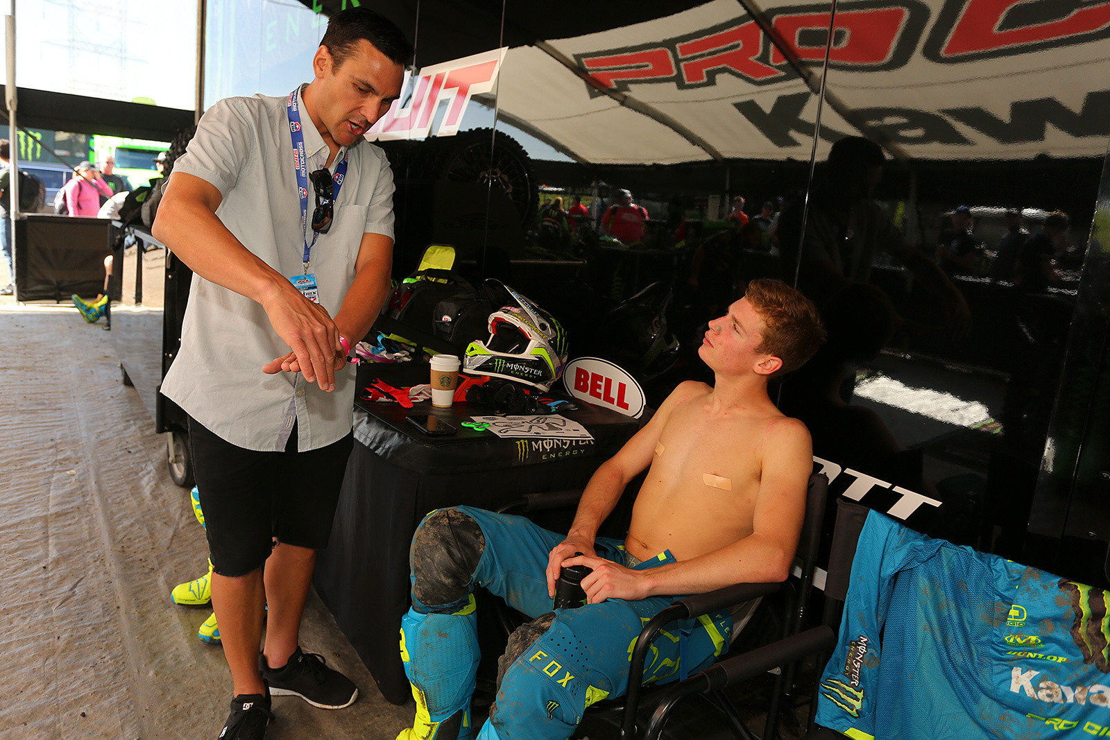 Nick Wey and Adam Cianciarulo - Vital MX Pit Bits: Thunder Valley - Motocross Pictures - Vital MX