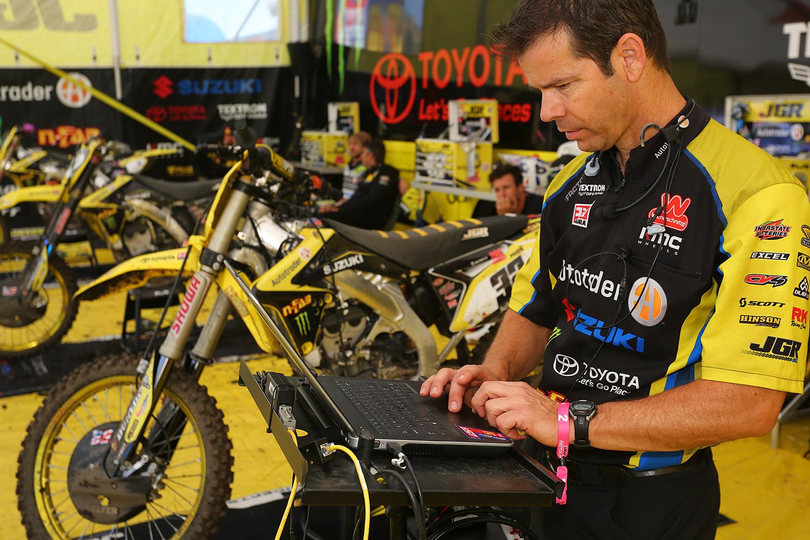 Dean Baker - Vital MX Pit Bits: Thunder Valley - Motocross Pictures - Vital MX