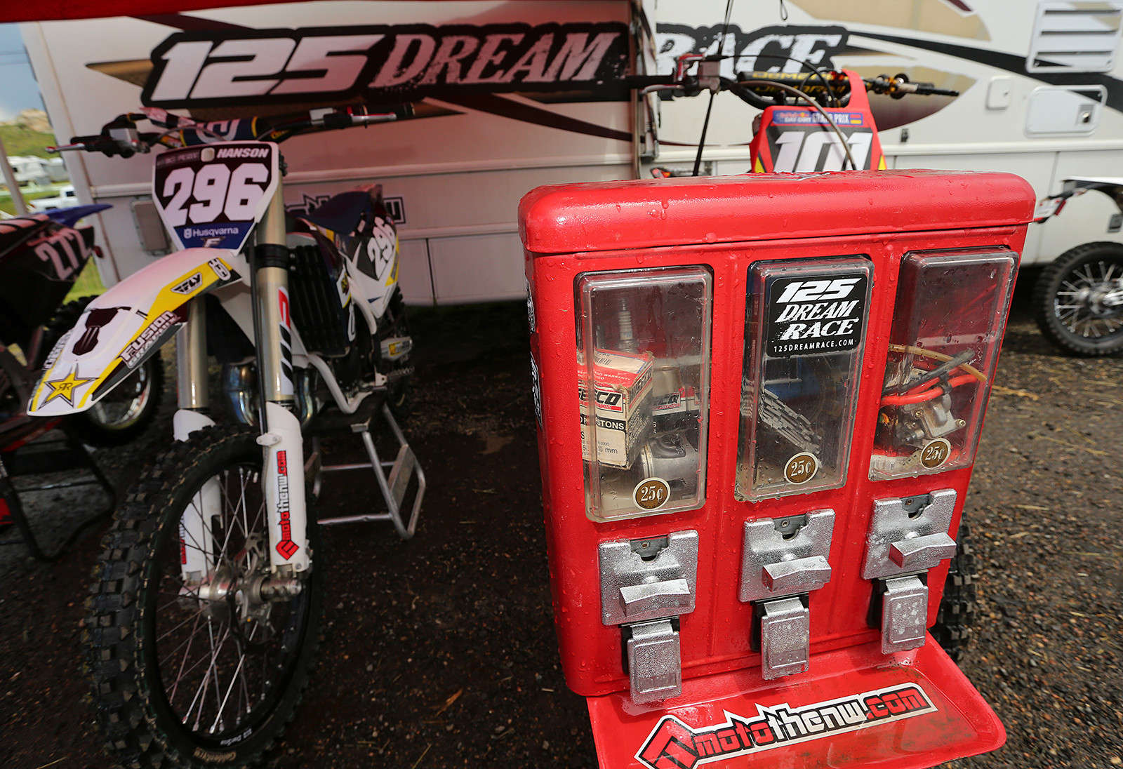 FMF 125 Dream Race Invitational Triple Crown - Vital MX Pit Bits: Thunder Valley - Motocross Pictures - Vital MX