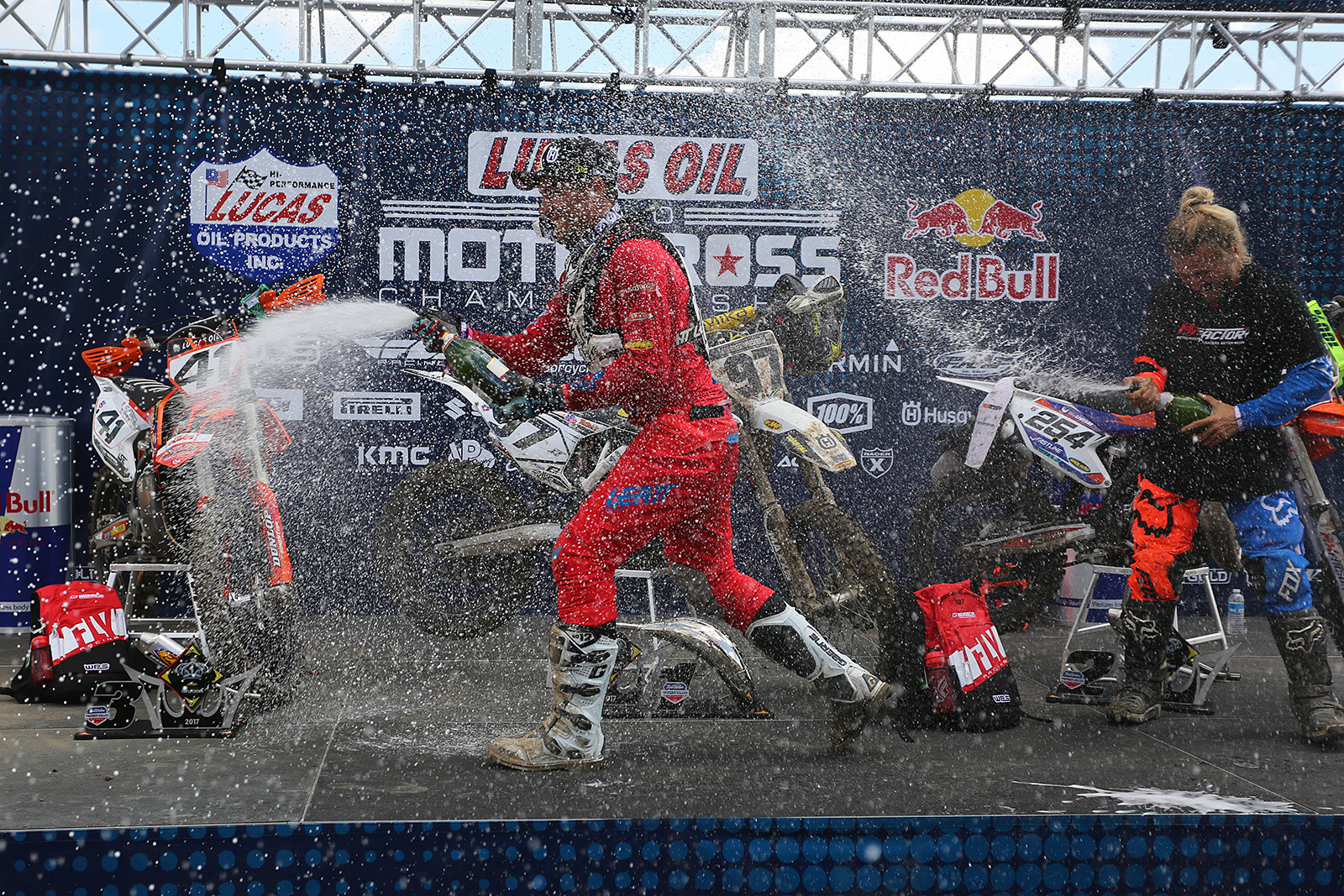 Champagne - Vital MX Pit Bits: Thunder Valley - Motocross Pictures - Vital MX