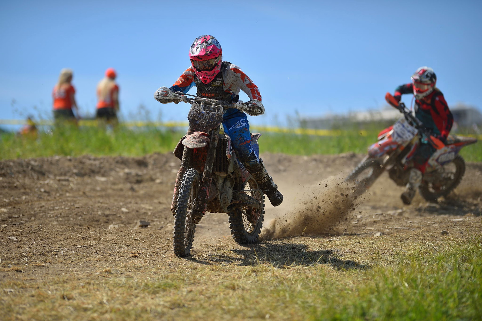 Becca Sheets and Mackenzie Tricker - Tomahawk GNCC - Motocross Pictures - Vital MX