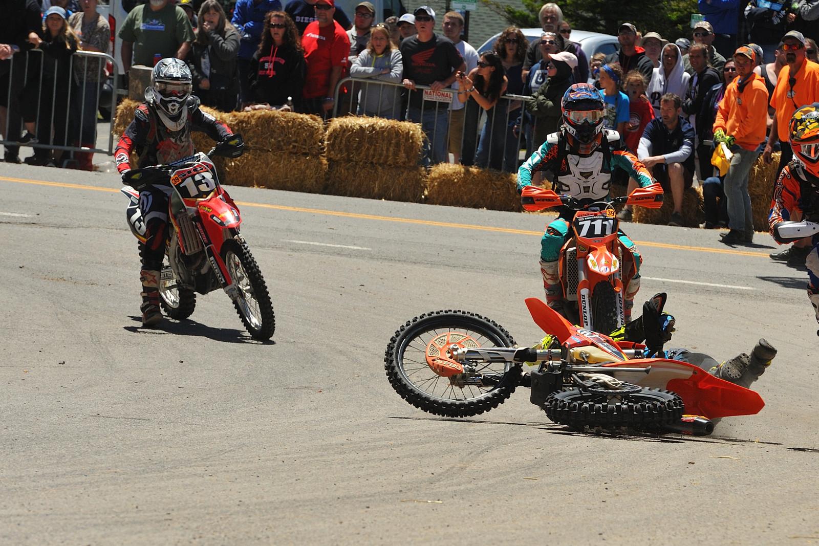 Oops! - Snowshoe GNCC - Motocross Pictures - Vital MX
