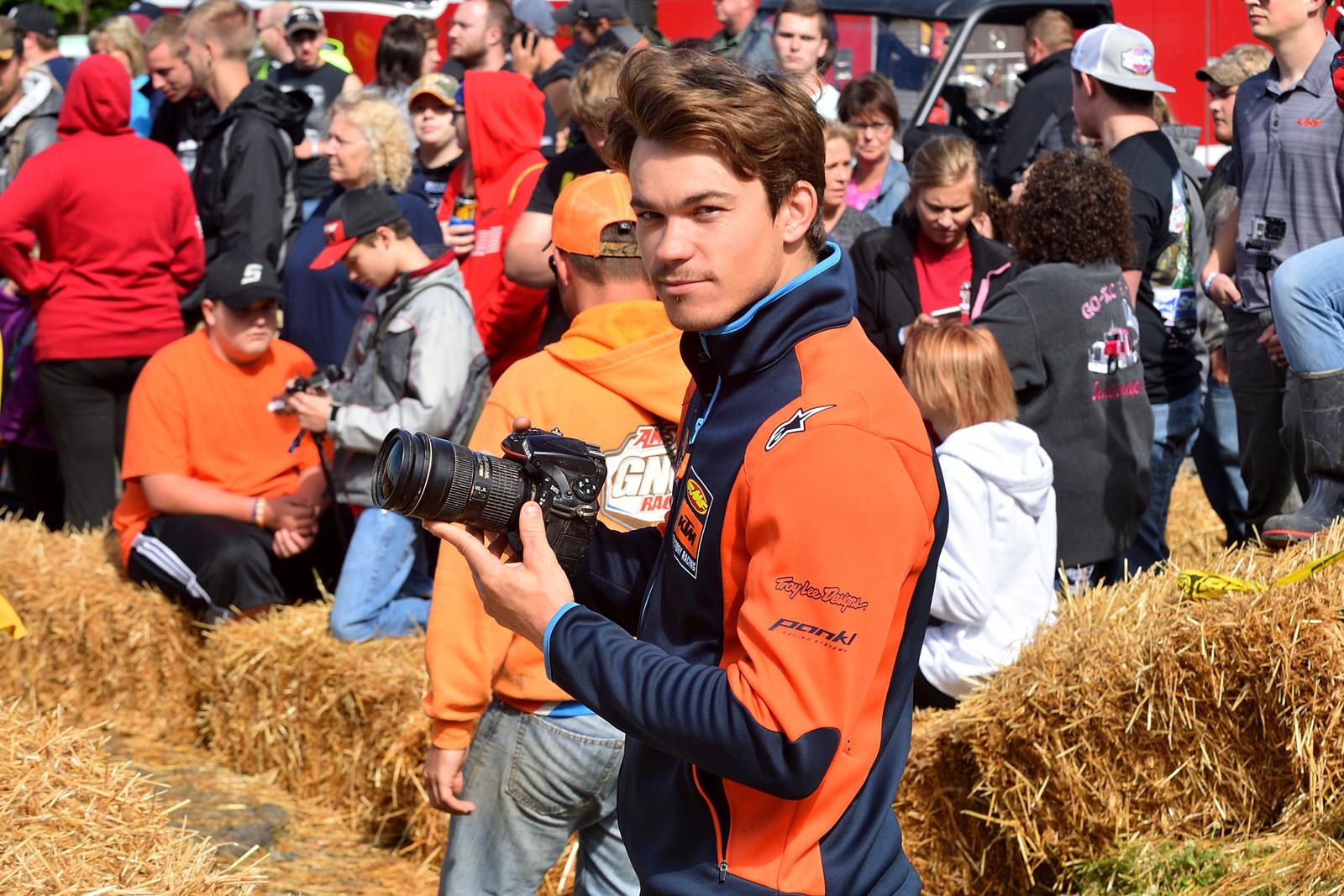 Snowshoe GNCC Photo Gallery: Kailub Russell - Snowshoe GNCC - Motocross Pictures - Vital MX