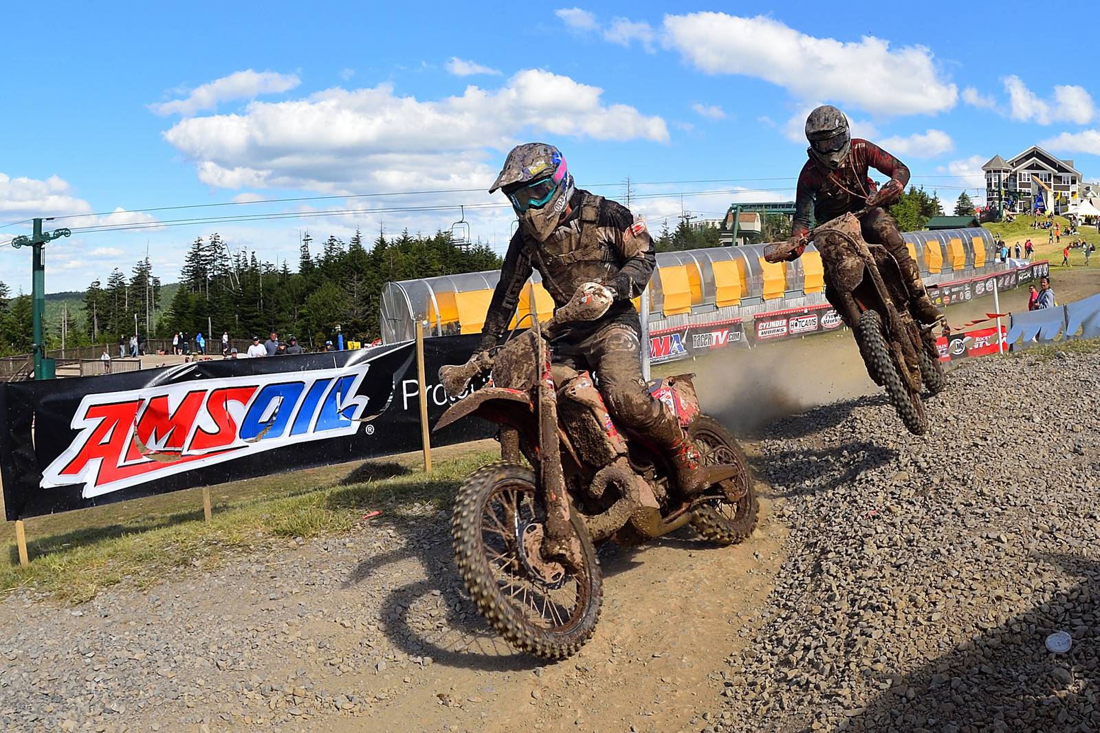 Ashburn and Bollinger - Snowshoe GNCC - Motocross Pictures - Vital MX