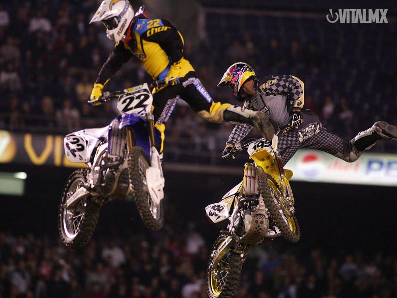 Travis Pastrana and Chad Reed