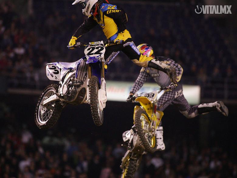 Chad Reed and Travis Pastrana