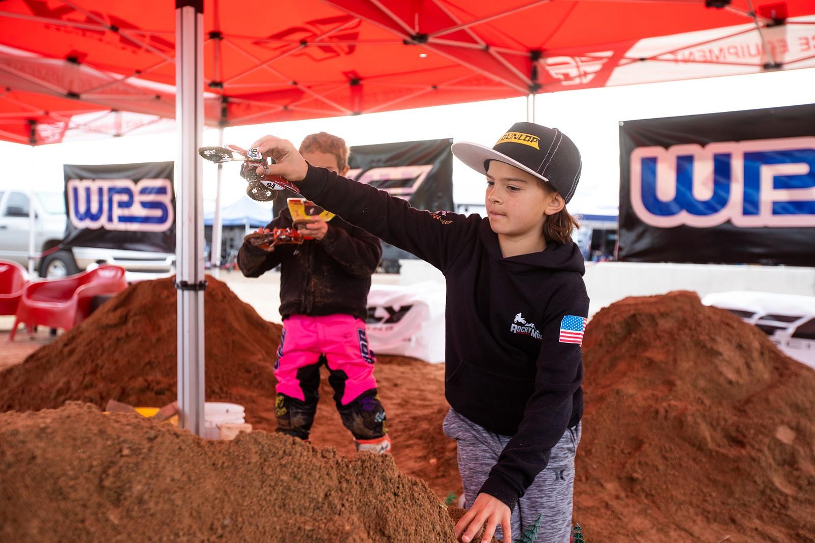 Toy dirt bike area - AZ Open of Motocross, Part 2 - Motocross Pictures - Vital MX