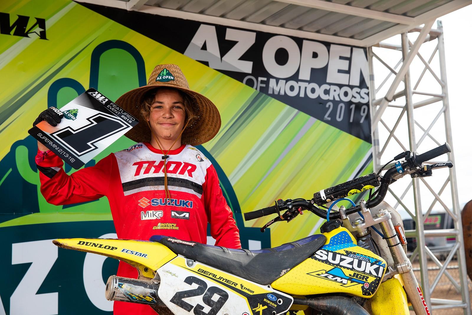 Julien Beaumer - AZ Open of Motocross, Part 2 - Motocross Pictures - Vital MX