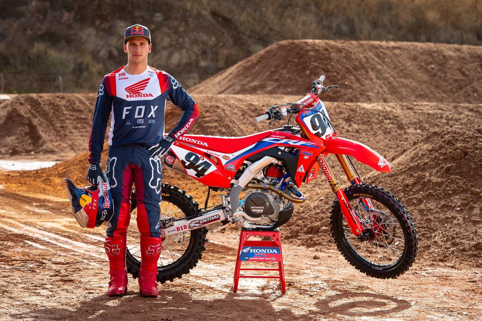 Ken Roczen - Team Honda HRC 2020 - Motocross Pictures - Vital MX