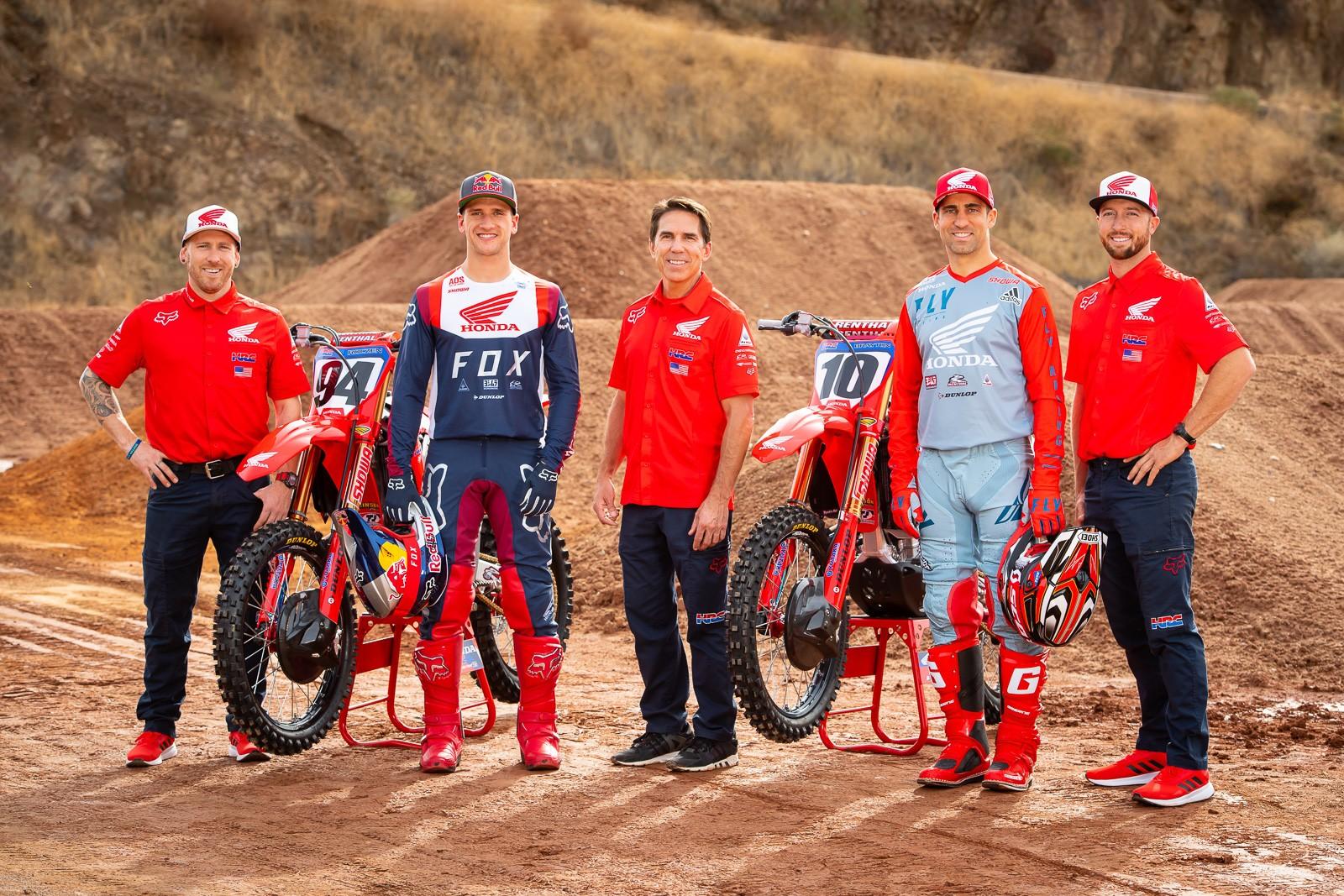 Team Honda HRC 2020 - Team Honda HRC 2020 - Motocross Pictures - Vital MX