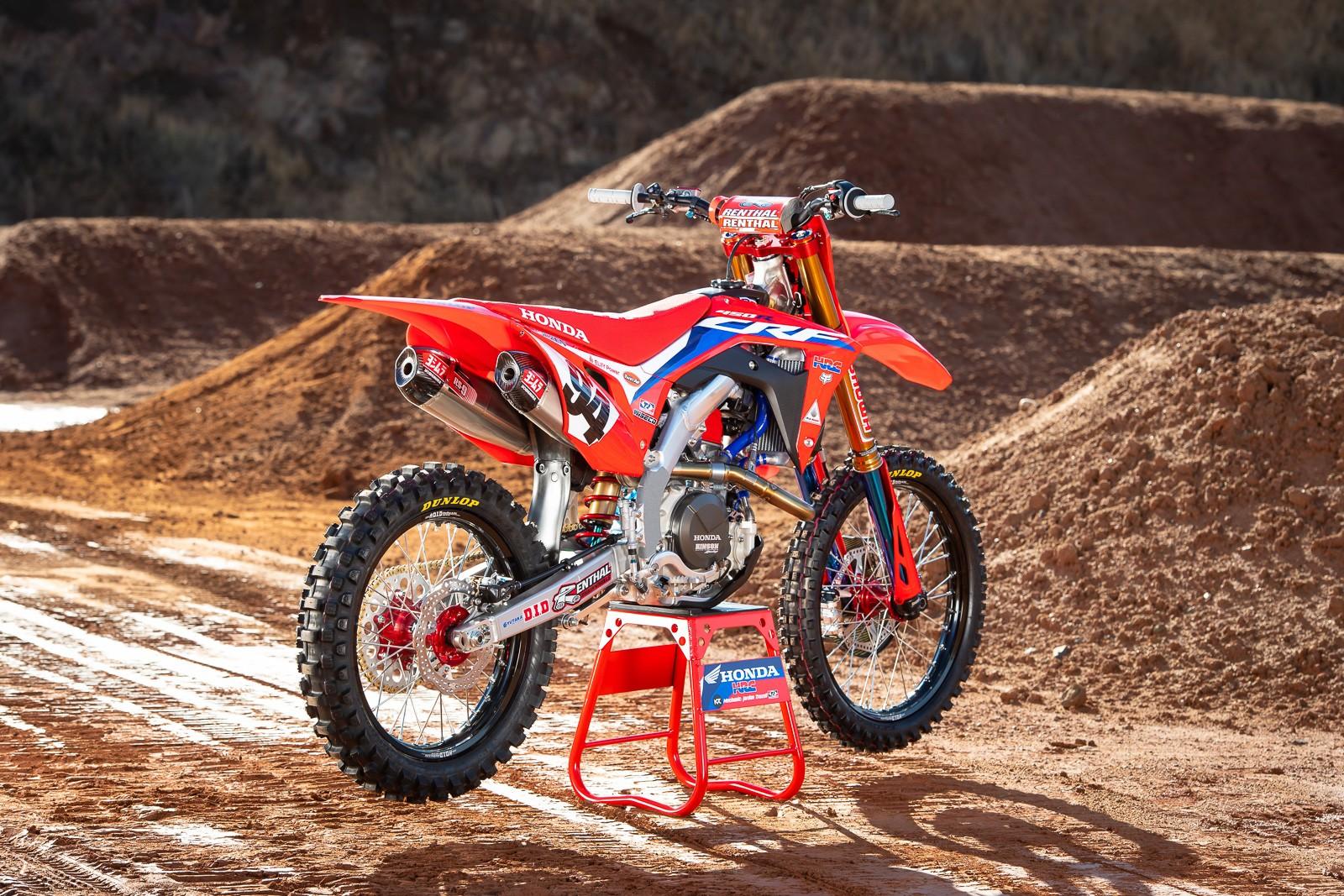 ken roczen - team honda hrc 2020 - motocross pictures