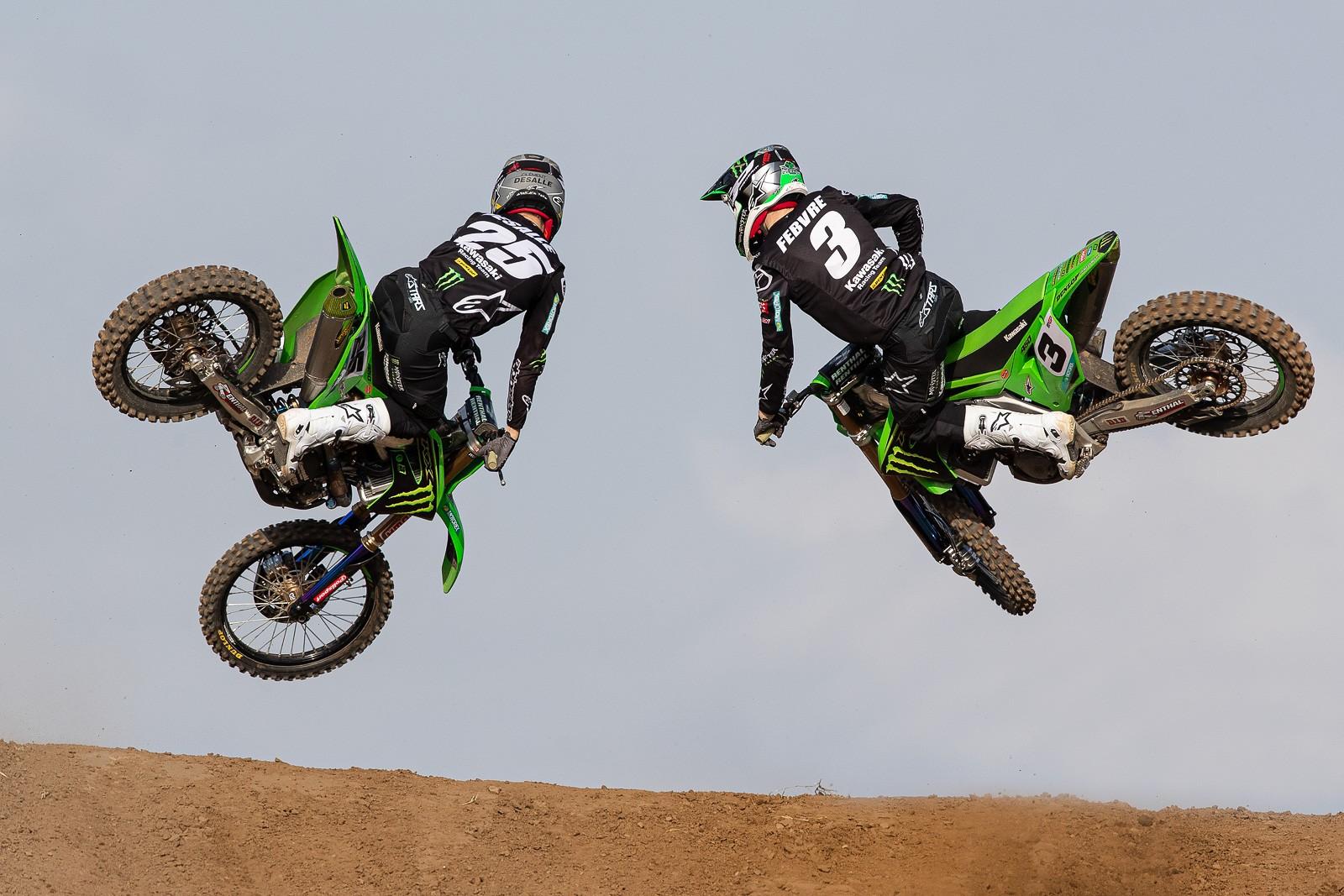 Romain Febvre and Clement Desalle - 2020 Monster Energy KRT Team Preview - Motocross Pictures - Vital MX