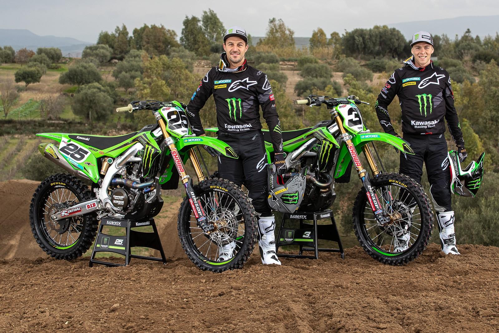 Clement Desalle and Romain Febvre - 2020 Monster Energy KRT Team Preview - Motocross Pictures - Vital MX