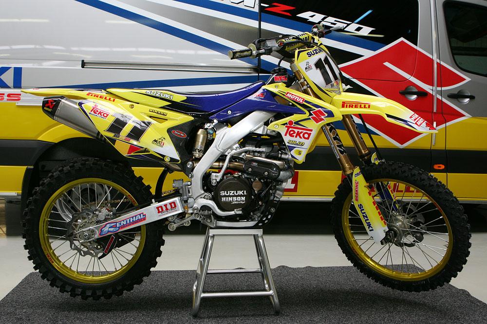 Team Teka Suzuki Wmx1 28 Suzuki Grand Prix Motocross