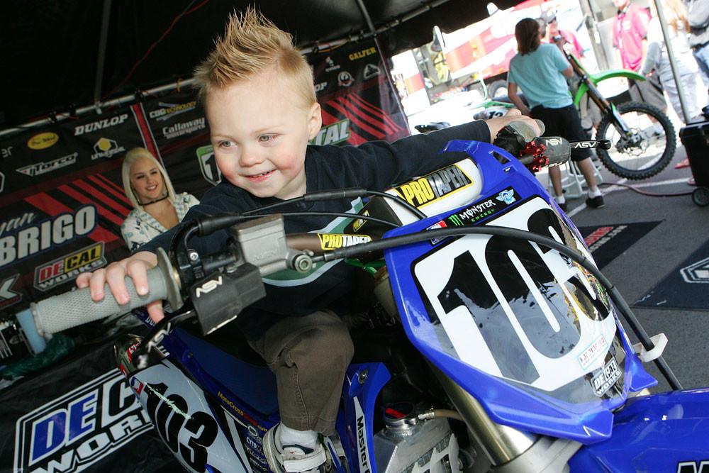 Ryan Abrigo - Vital MX Pit Bits: Seattle 2008 - Motocross Pictures - Vital MX