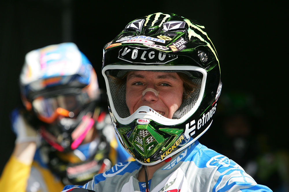 Jason Lawrence - Vital MX Pit Bits: Seattle 2008 - Motocross Pictures - Vital MX