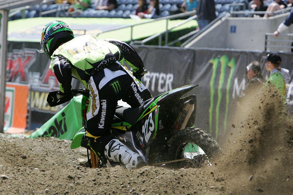 Brett Metcalfe - Vital MX Pit Bits: Seattle 2008 - Motocross Pictures - Vital MX