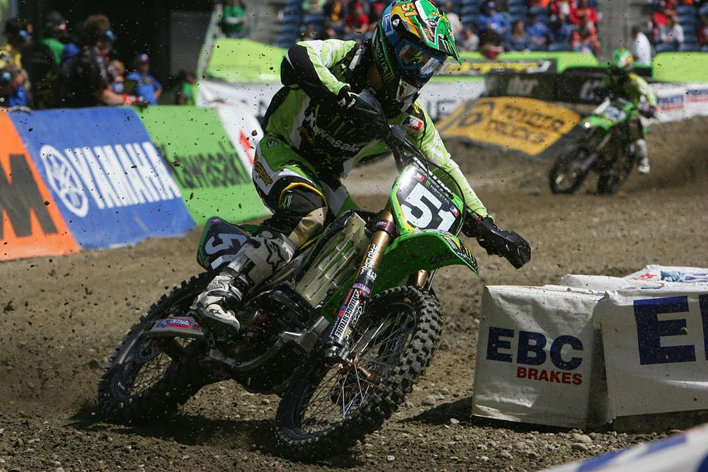 Austin Stroupe - Vital MX Pit Bits: Seattle 2008 - Motocross Pictures - Vital MX