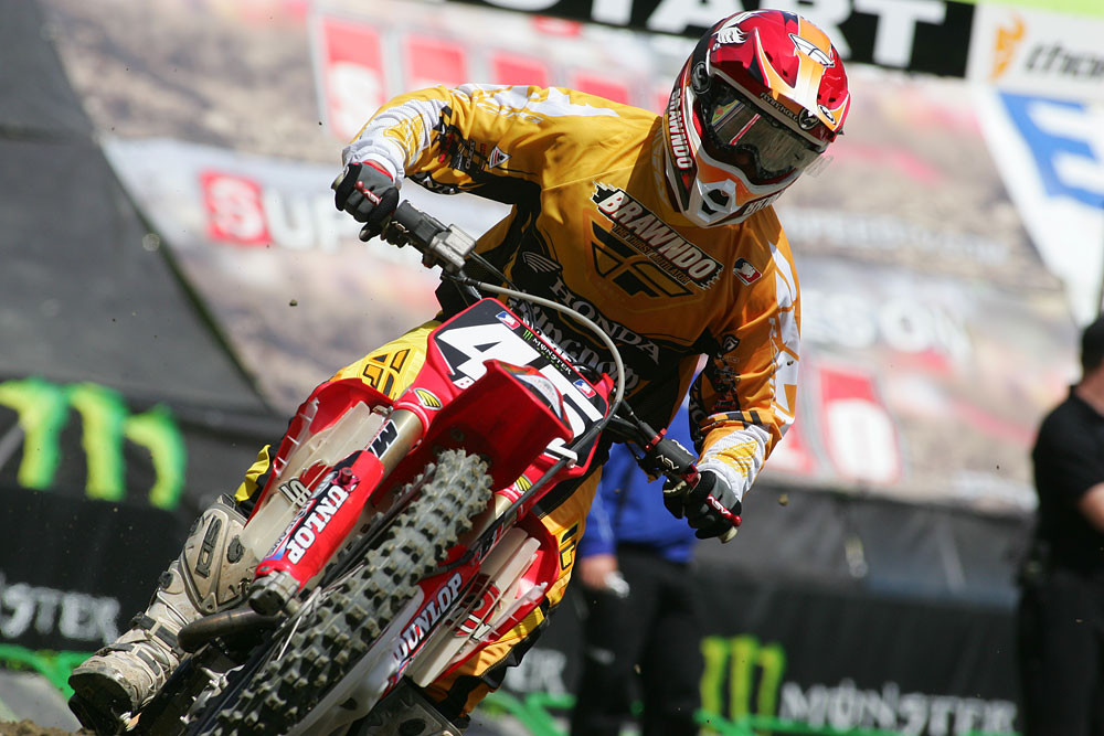 Robert Kiniry - Vital MX Pit Bits: Seattle 2008 - Motocross Pictures - Vital MX