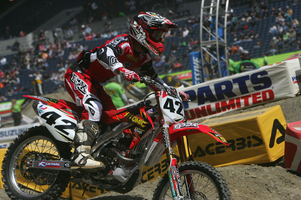 Paul Carpenter - Vital MX Pit Bits: Seattle 2008 - Motocross Pictures - Vital MX