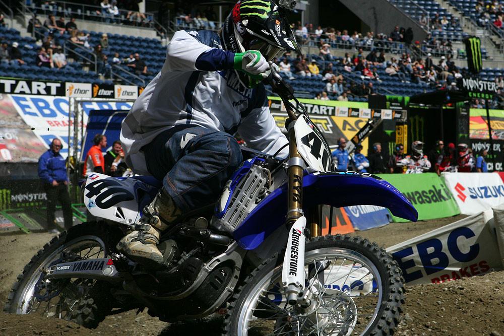 Josh Hill - Vital MX Pit Bits: Seattle 2008 - Motocross Pictures - Vital MX