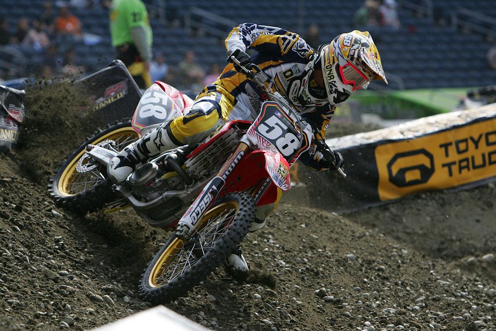 Kyle Cunningham - Vital MX Pit Bits: Seattle 2008 - Motocross Pictures - Vital MX