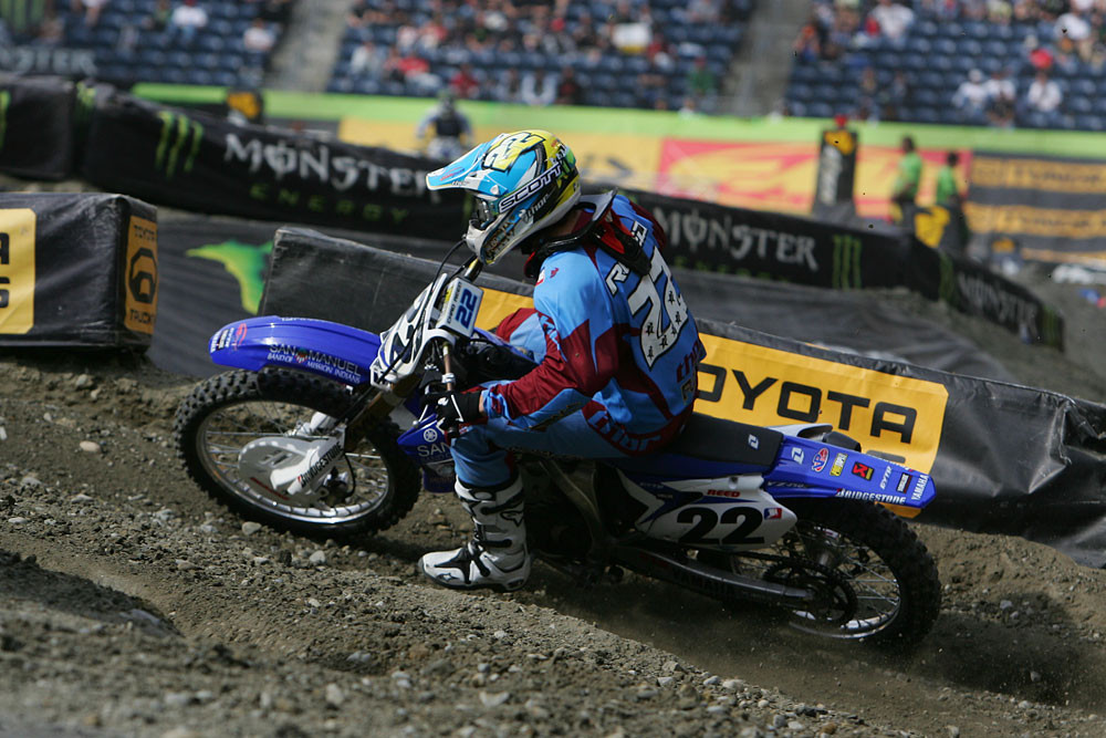Chad Reed - Vital MX Pit Bits: Seattle 2008 - Motocross Pictures - Vital MX