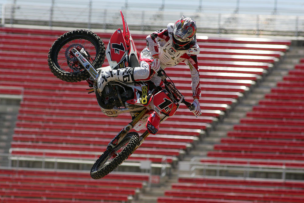 Trey Canard - Vital MX Pit Bits: Las Vegas SX Press Day - Motocross Pictures - Vital MX