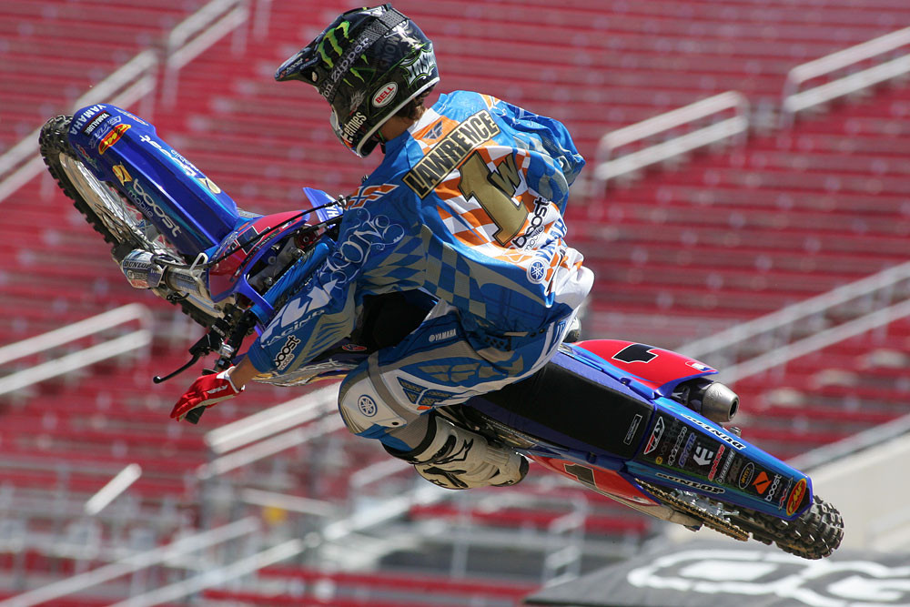Jason Lawrence - Vital MX Pit Bits: Las Vegas SX Press Day - Motocross Pictures - Vital MX
