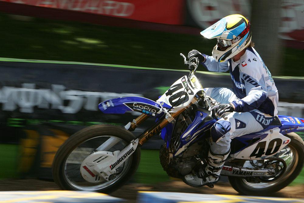 Josh Hill - Vital MX Pit Bits: Las Vegas 2008 - Motocross Pictures - Vital MX