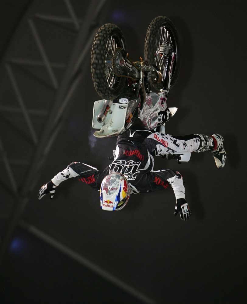 Travis Pastrana - 2006 Jeremy McGrath Invitational - Saturday Night - Motocross Pictures - Vital MX