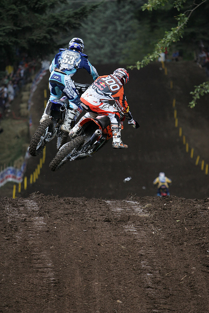 Matt Goerke and Mike Alessi - AMA Washougal '06 - Motocross Pictures - Vital MX