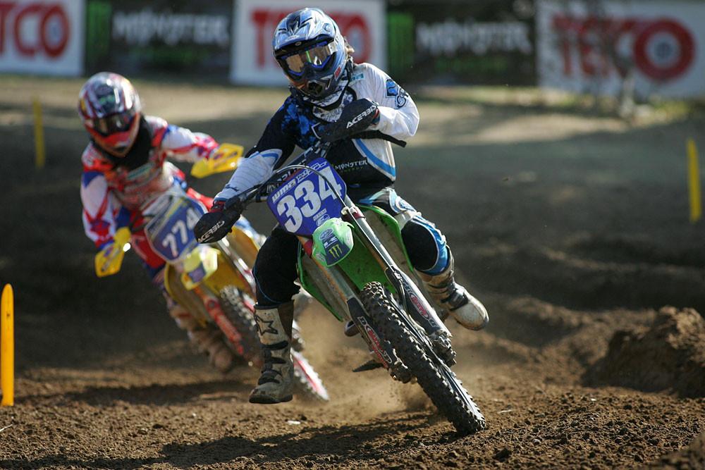 Tatum Sik and Sheri Cruse - WMA Freestone: Moto 1 - Motocross Pictures - Vital MX