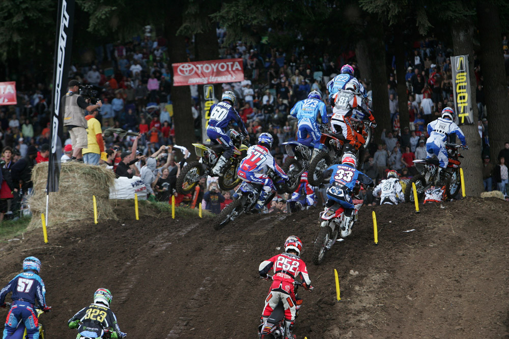 Close contact - AMA Washougal '06 - Motocross Pictures - Vital MX
