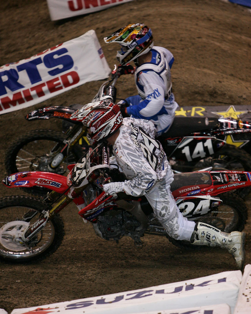 Josh Grant and Steve Boniface - 2006 Rockstar Energy U.S. Open Friday Racing - Motocross Pictures - Vital MX