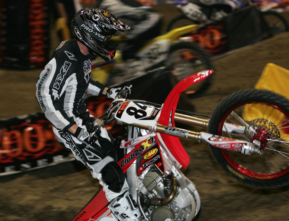 Jimmy Nelson - 2006/2007 BooKoo Arenacross Round 1 - Motocross Pictures - Vital MX