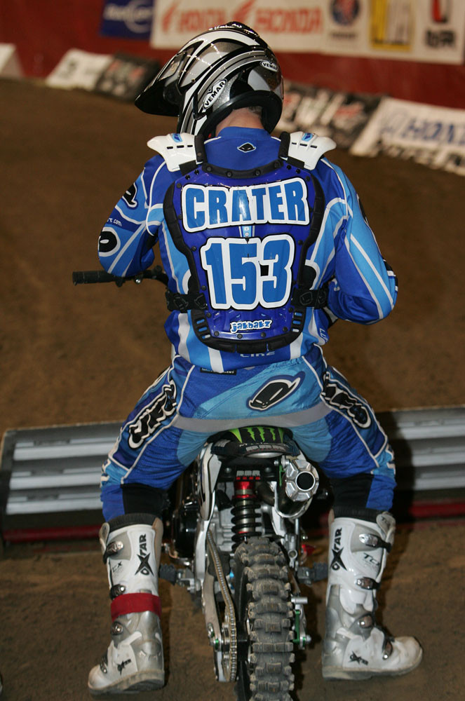 Greg Crater - 2006/2007 BooKoo Arenacross Round 1 Racing - Motocross Pictures - Vital MX